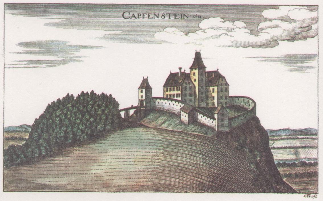 Vischer Stich von Schloss Kapfenstein